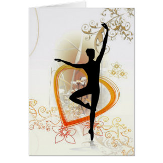 love dance greeting card