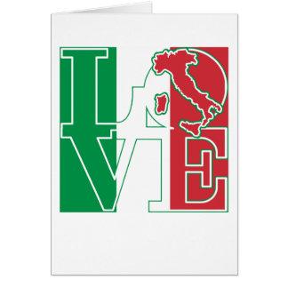 LOVE Italian Style Greeting Card