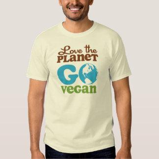 Love the Planet Go Vegan Tees