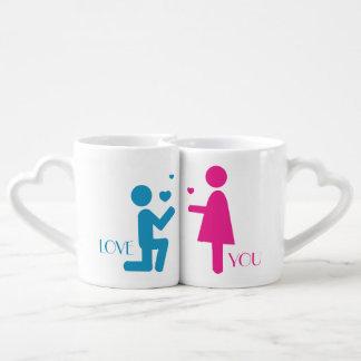 Love You Be Mine II Lovers Mug