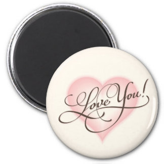 'Love You!' Magnet
