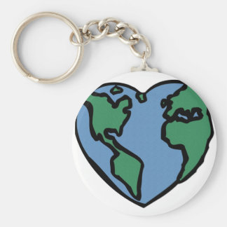 Love your Mother. Basic Round Button Key Ring