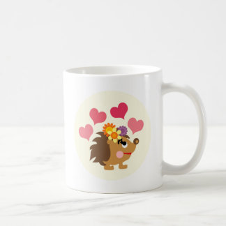 LovelyHedgehog7 Basic White Mug