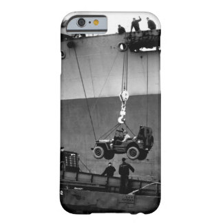 Lower Away.  Down goes a jeep from_War image Barely There iPhone 6 Case