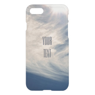Luminous Sun and Wispy Clouds iPhone 7 Case