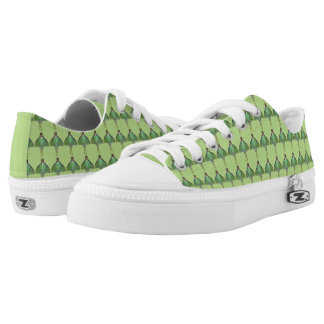 Luna Moth Green Animal Printed Shoes