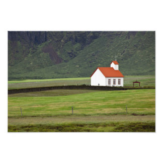 Lutheran Church, Iceland Photo Print