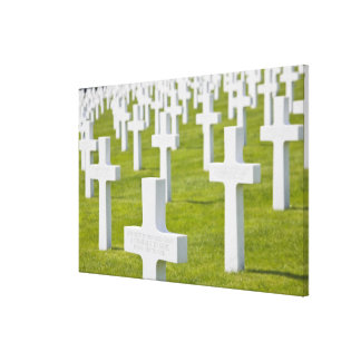 Luxembourg, Hamm. US Military Cemetery Canvas Prints