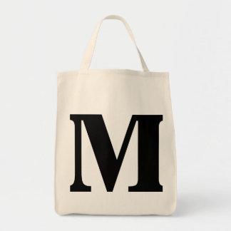 """M"" MONOGRAM BAG"