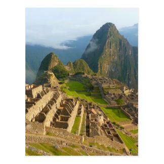 Machu Picchu ruins Postcard