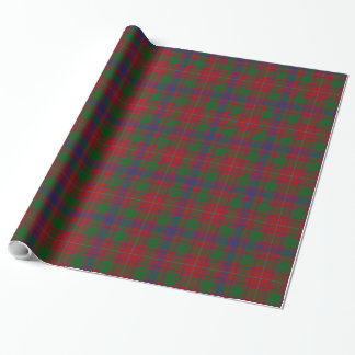 MacIntyre Tartan Plaid Wrapping Paper