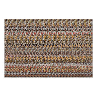 "Magic Eye® 3D ""Puppies Playing"" Poster 36"" x 24"""