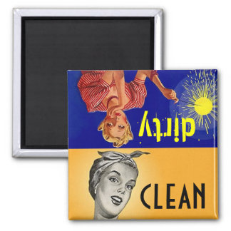 Magnet Kitchen Helper Clean Dirty Dishwasher Gift