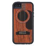 Mahogany Top Acoustic Guitar iPhone 5 Cases