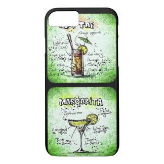 Mai Tai/ Margarita Recipe Design iPhone 7 Case