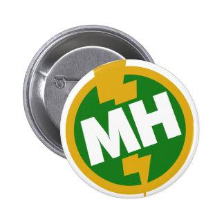 Maid of Honor 6 Cm Round Badge