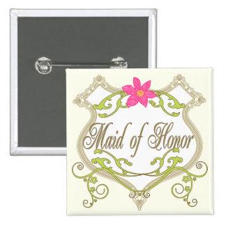 Maid of Honor Wedding Badges