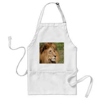 Male African Lion Apron