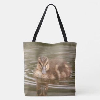 Mallard Duckling Baby Duck Bird Wildlife Animal Tote Bag