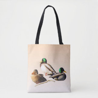 Mallard Ducks Bird Animal Tote Bag