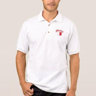 Maltese Flag Polo T-shirt