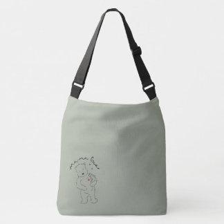 Mama Bear cross body bag. Tote Bag
