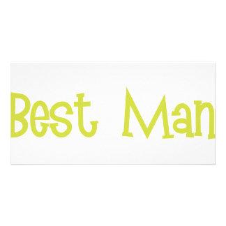Mandi-BestMan-Ylw Photo Card