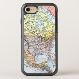 MAP: NORTH AMERICA, 1890 OtterBox SYMMETRY iPhone 7 CASE