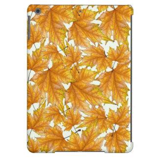 Maple leaves foliage iPad air cases