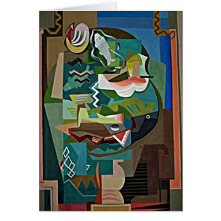 Marcoussis - La Table Note Card