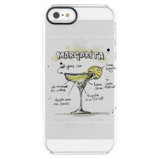 Margarita Drink Recipe Design Clear iPhone SE/5/5s Case