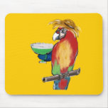 Margarita Parrots Mouse Pad