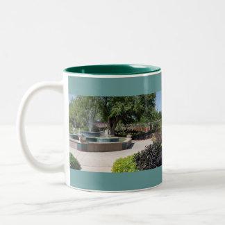 Margie Button Fountain Gardens Mug
