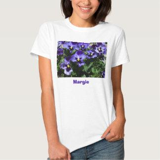 Margie's Pansies T-shirt