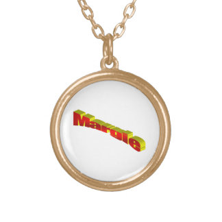 Margie's Round Pendant Necklace
