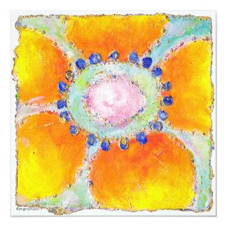 """marigold"" shower invitation"