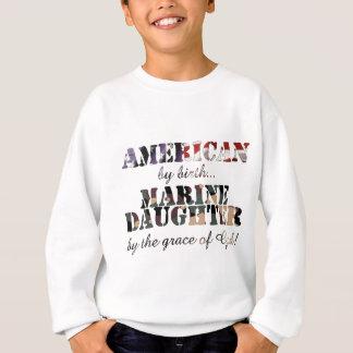 Marine Daughter Grace of God Tshirt
