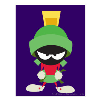 MARVIN THE MARTIAN™ Ready to Attack Postcard
