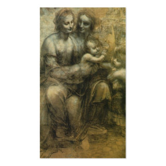 Mary, Christ, St. Anne, and St. John by Davinci Pack Of Standard Business Cards
