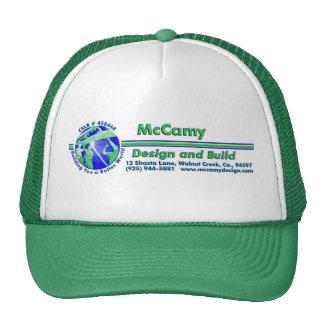 McCamy Design and Build Cap