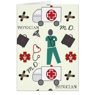 Medical Doctor Greeting Card