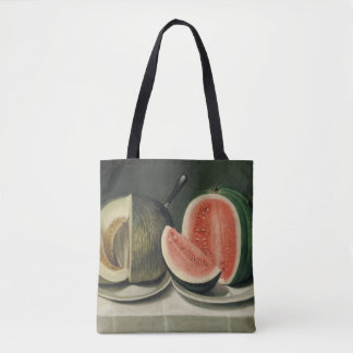 Melons art bags tote bag