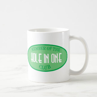 Member Of The Hole In One Club Basic White Mug