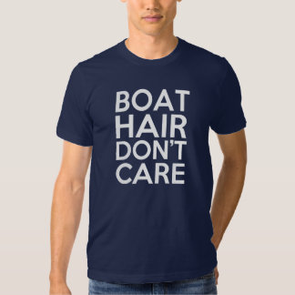 Men's Boat Hair, Don't Care - Funny Men's Tees