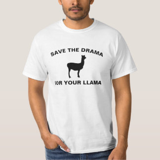 Men's Save The Drama For Your Llama T-shirt