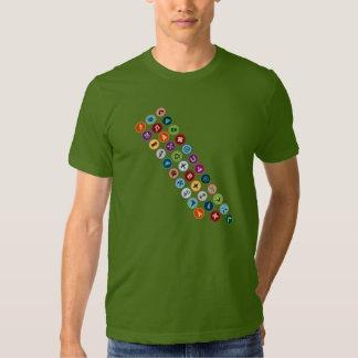 Merit Badge Sash T Shirts