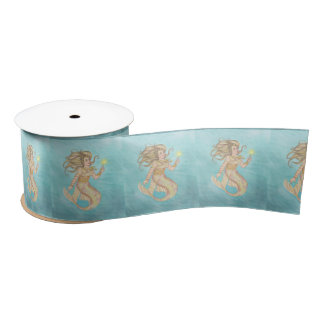 Mermaid Sea Queen Fia Fantasy Satin Ribbon