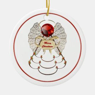 Merry Christmas Angel Ornament