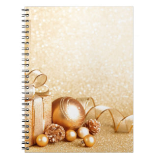 MERRY CHRISTMAS GIFTS SPIRAL NOTE BOOK