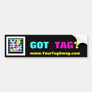 Microsoft Tag Bumper Sticker